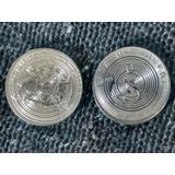 3 Monedas Prueba De Cuño Casa Moneda Chile
