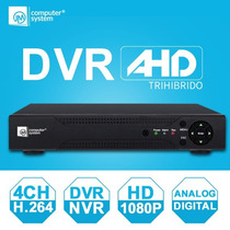 Dvr 4 Canales Ahd Híbrido Full Hd 1080p Pagina Propia Icloud