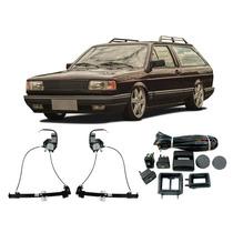 Kit Vidro Elétrico Volkswagen Parati Quadrada Botões Portas