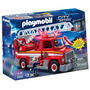Playmobil Camion De Bomberos Con Luz Y Sonido + 2 Muñecos
