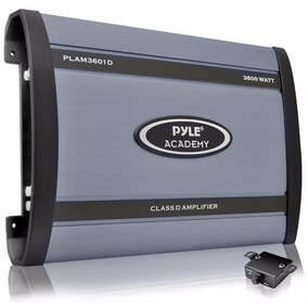 Pyle Potencia Auto Plam3601d Ampli Monoblock 3600 W Digital