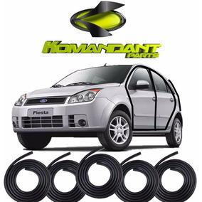 Kit Borrachas 4 Portas E Porta Mala Fiesta Hatch Sedan 02/13