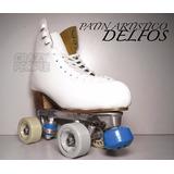 Patín Artístico Top Skate Delfos - Saltos - Crazy People