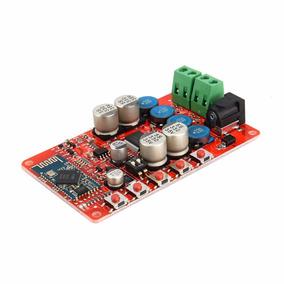 Placa Amplificador De Áudio Bluetooth 4.0 Receptor Tda7492 -