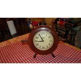 Reloj Antiguo Timon Grande De Madera