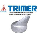 Ánodo P/ Pata Mercruiser- Alpha Skeg / Aleta Corto- Zinc