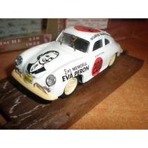 Porsche 356 1952 En Memoria Eva Peron Coleccion Brumm 1/43