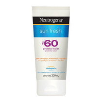 Sun Fresh Fps60 Neutrogena - Protetor Solar 200ml