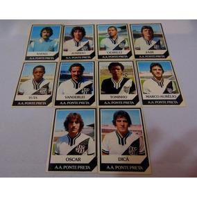 Futebol. Lote Com 10 Cards Ping Pong Do Time Da Ponte Preta