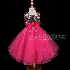 Vestido Infantil Crianca Pink Princesa Barbie. Lindo