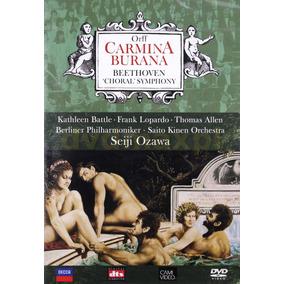 Dvd Carmina Burana - Beethoven Choral Symphony(937615)