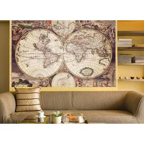 Vinilos Decorativos Mapas - Mapamundi - Paises - Murales