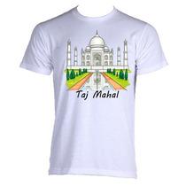 Camiseta Allsgeek India Taj Mahal Adultto 01