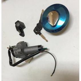 Kit Llave Contacto + Tapa Tanque + Soporte Casco Honda Nx150