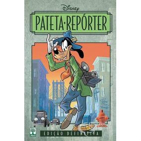 Livro Disney Capa Dura - Pateta Reporter