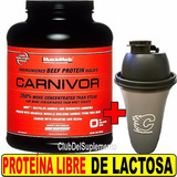 Proteina Isolate Carnivor 4 Lbs Musclemeds Beef Protein Vaso