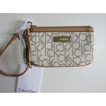 Carteira - Bolsa Mão Feminina Calvin Klein - Nova/original