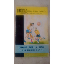 Calendario Primera División 1967-1968