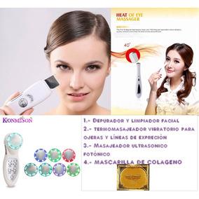 Kit Rejuvenecedor De Belleza Facial , 3 Equipos