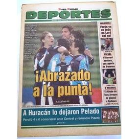 Racing Futuro Campeon 2001 - Contratapa Loana Alvarez