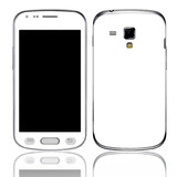 Capa Adesivo Skin352 Galaxy S Duos Gt-s7562l + Kit Tela