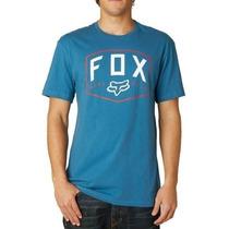 Camiseta Fox Loop Out Azul M(m)