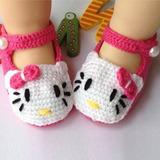Sandalias Crochet Knit Socks Prewalker Bebes Niñas X06