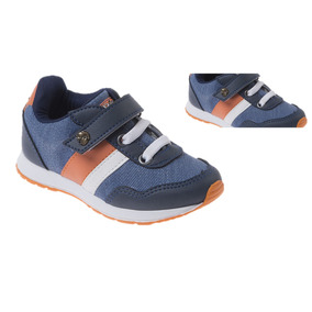 Tenis Masculino Infantil Pepe Serelepe Jeans Laranja 005102