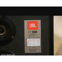 Caixa Acústica Jbl Cf-100 Raras - Gradiente Technics Polivox