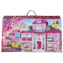 Mega Bloks - Barbie - Estilo Build \n Mansion De Lujo