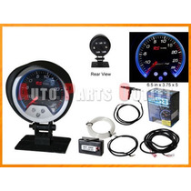 Medidor Fantasma Rs Type Boost Gauge 0-25 Psi