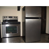 Estufay Refrigerador Acero Inoxidable Nuevos