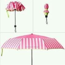Paraguas Victoria Secret Rosa Nuevo. Vendedora 100% +