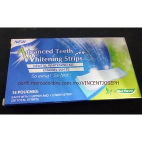 Tiras De Blanqueamiento Dental Blanquear Diente Blanco 28pcs