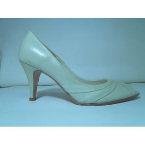 Zapato Mujer Cuero Punta Abierta Luis Xv - 33 Designs