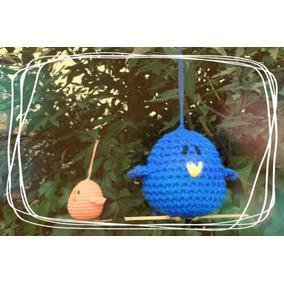 Pajaritos Amigurumi Tejidos A Crochet, Souvenir