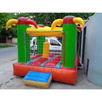 Castillo Inflable +turbina+metegol De Fundición