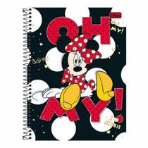 Caderno Universitário 10 Matérias Minnie 200 Folhas Oh My