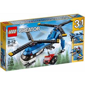 Lego Creator - Helicóptero De Duas Hélices 3 Em 1 31049