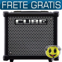 Cubo Amplificador Guitarra Roland Cube 10 Gx Loja Oferta