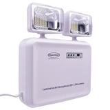 Luminária De Emergência 1200 Lumens Bivolt Led Segurimax