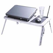 Mesa Notebook Cooler Suporte Base Porta Copo Mouse Ld09
