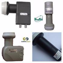 Kit Com 10 Lnb Duplo Universal Ku /modelo Brasilsat Promoção