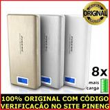 Carregador Portátil Power Bank Pineng 20000 Mah Usb Celular