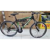 Bicicleta Venzo Yety R26 21 Vel Suspension Aluminio