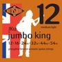 Cuerdas Guitarra Electroacústica Jk12(jumbo King)