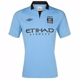 Camiseta Manchester City Umbro 2013 Oficial