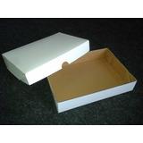 Caixa P/ Salgados/ Doces/ Presentes Gg Branca 41x32x5 - C/25