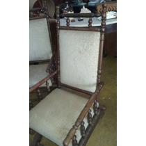 Par De Cadeiras De Balanço Antigas Manoelina Manoellino