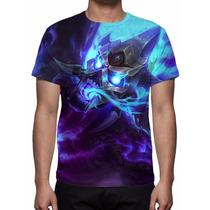 Camisa, Camiseta League Of Legends - Brand Fogo Espiritual